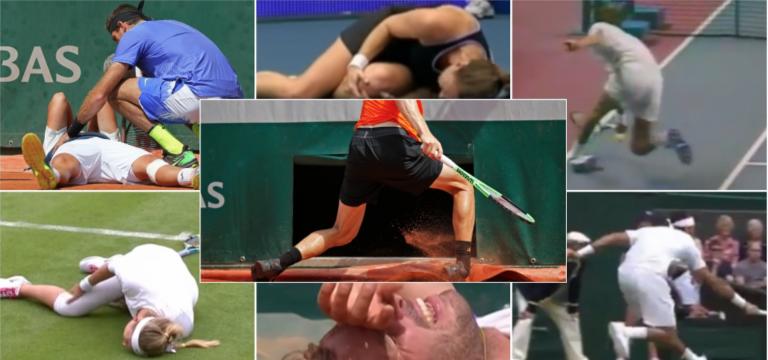 Pathologies du joueur de tennis